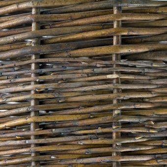 Weidenkorb 45 cm Holzkorb Kaminholzkorb Erntekorb Dekokorb Kartoffelkob – Bild $_i