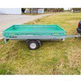 Gepäcknetz / Anhängernetz grün 3x6 m