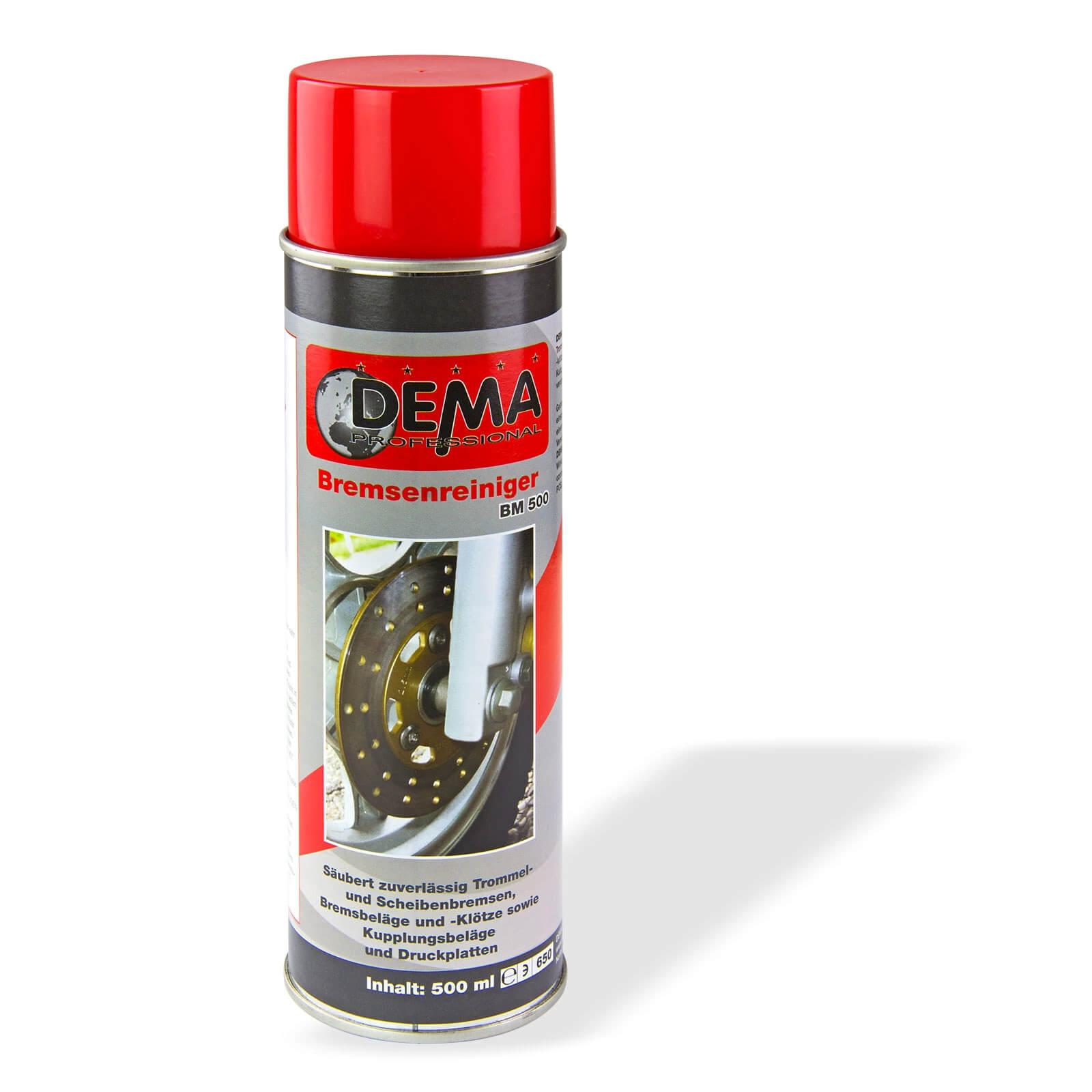 Dema Bremsenreiniger PRO 500 ml Spray Bremsen Autopflege Teilereiniger 20425