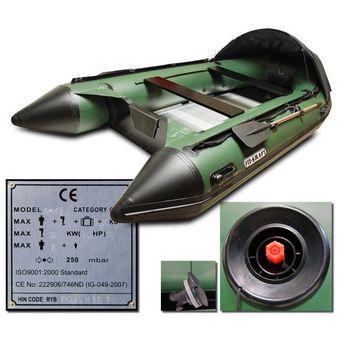 Schlauchboot / Sportboot FK420 grün mit Aluboden – Bild $_i