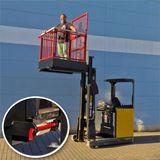 Arbeitsbühne / Hebebühne für Stapler / Gabelstapler 300 kg