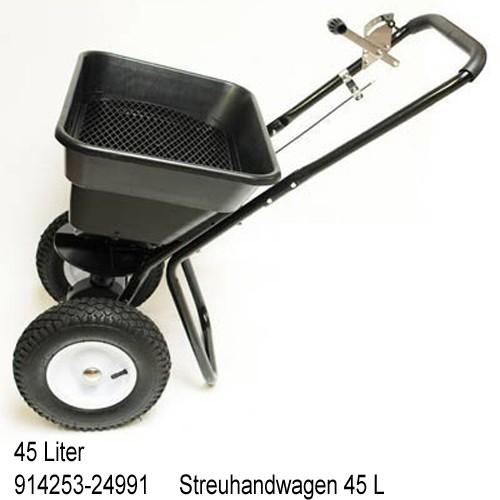 Dema Streuwagen / Streuer Salz Saatgut Dünger 5 Modelle var-streuwagen