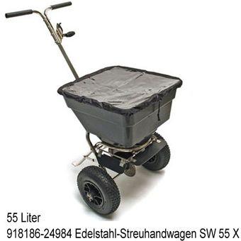 Streuwagen / Streuer Salz Saatgut Dünger 5 Modelle – Bild $_i
