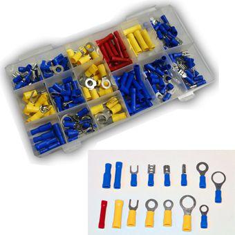 Vintec Kabelschuhe / Quetschverbinder Sortiment 180-tlg Setbox – Bild $_i