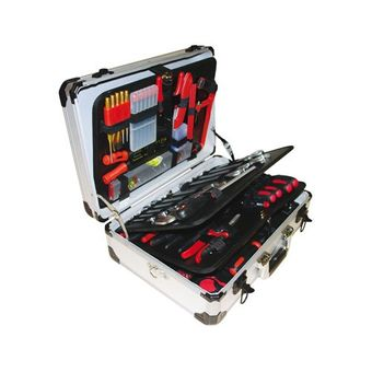 Vintec Werkzeugkasten / Werkzeugkoffer VT 128 inkl. Werkzeug
