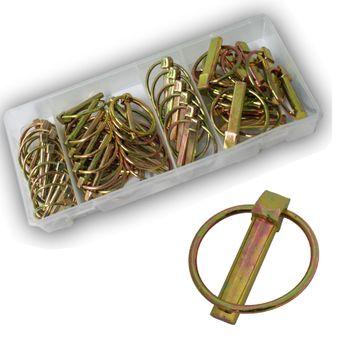 Vintec Sicherungs-Splinte 50-tlg Sortiment 4.5 - 11 mm Setbox Sicherungssplinte
