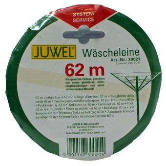 Juwel Wäschespinnen Wäscheleine  62 Meter