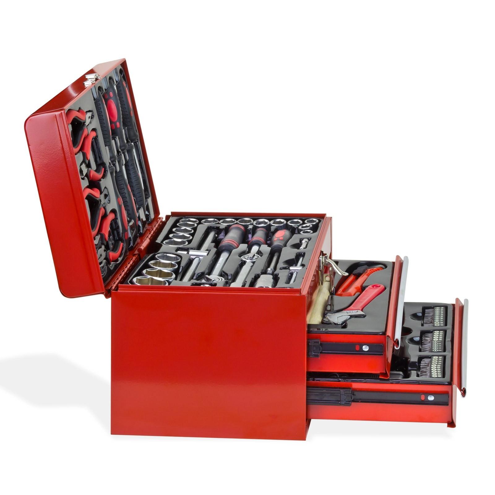 werkzeugkasten werkzeugkoffer inkl werkzeug best ckt 155 tlg. Black Bedroom Furniture Sets. Home Design Ideas