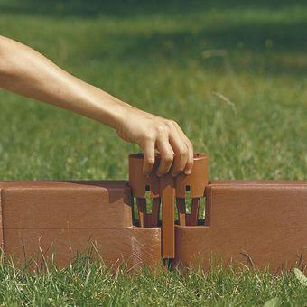 Juwel Garten Baustein VERBINDER 2 Stück terracotta – Bild $_i