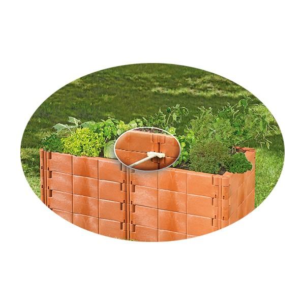 Juwel Hochbeet Basis Set Profiline Stabilisierungs Set Gartenbeet