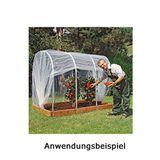 Juwel Tunnelfolie 350x490 cm für Tomatenhaus Größe 2 Folienzelt