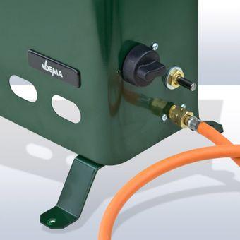 Gas Gewächshausheizung / Gewächshausheizer 2 kW – Bild $_i