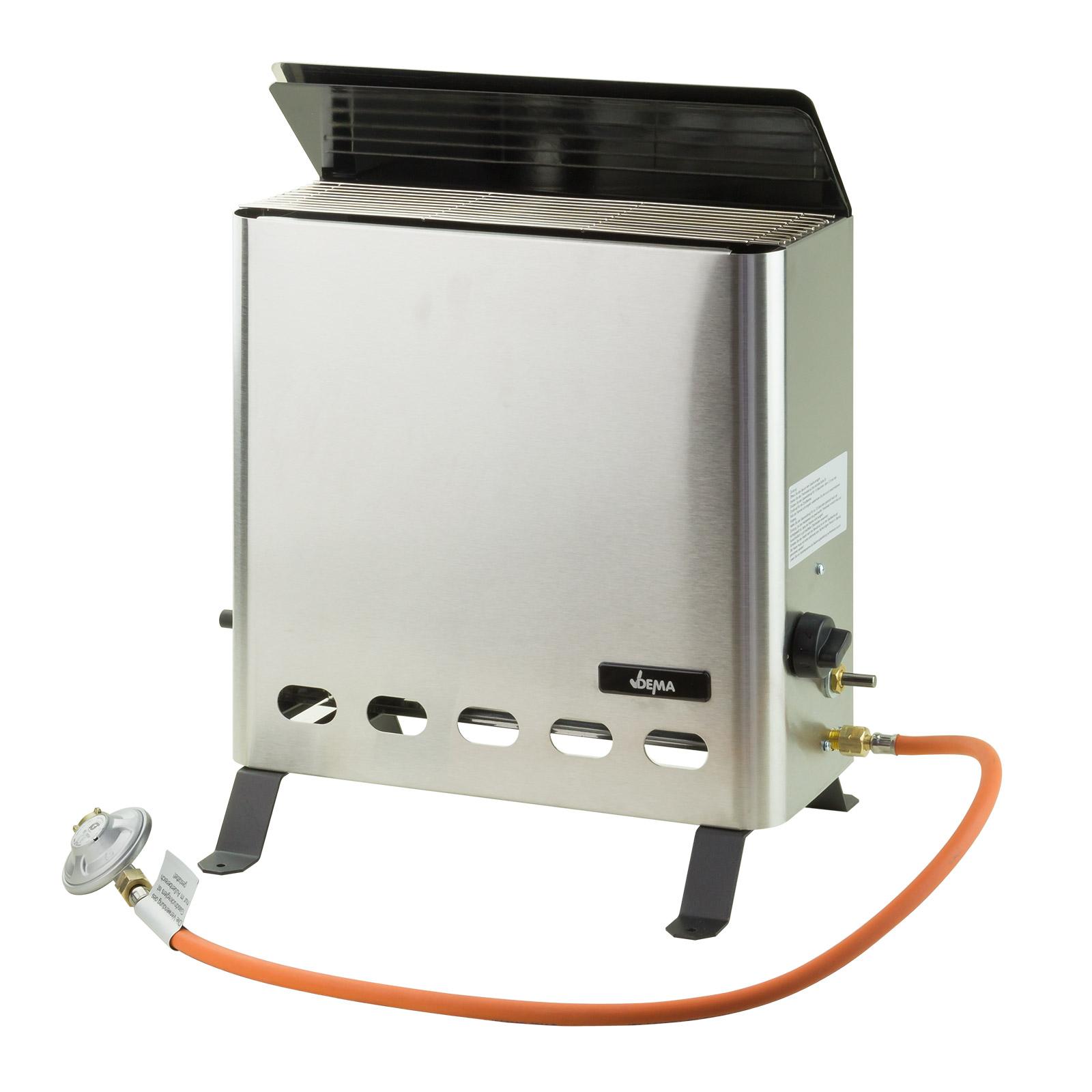 Dema Gas Gewächshausheizung Gewächshausheizer Gasheizung 4,2 kW 60898