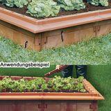 Juwel Hochbeet Schneckenkanten 6x  terracotta Schneckenabwehr