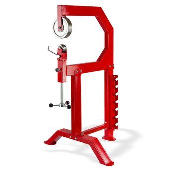 Rollenstreckmaschine / English Wheel, 90x87x151 cm