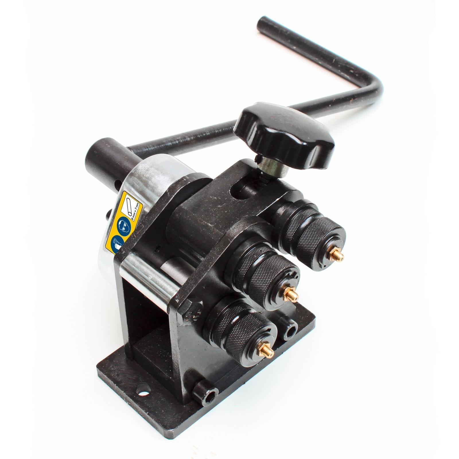 Dema Rollenbiegemaschine / Biegemaschine 5 / 7 mm 24304