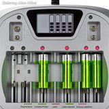 Akku Ladegerät / Batterieladegerät AL8 electronic AA AAA C D Blockbatterien