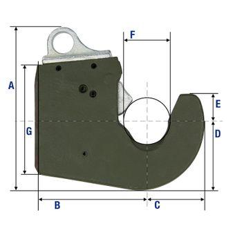 Unterlenker Schnellkuppler-Anbausatz Kat. 2 – Bild $_i