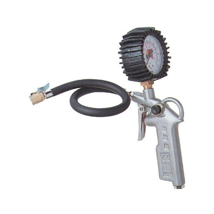 Güde Druckluft Reifenfüller Luftdruckprüfer Reifendruckfüller für Kompressor 2819