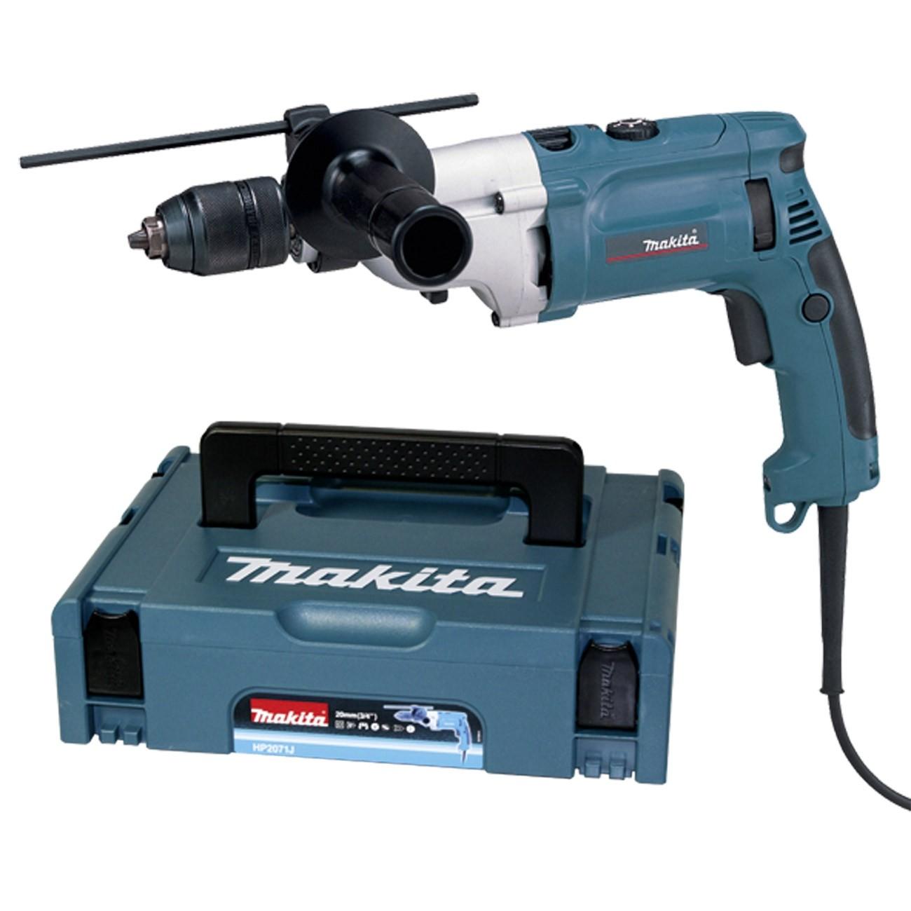 Makita Schlagbohrmaschine Schlagbohrer HP2071J 1010 Watt Bohrmaschine Bohrer 16003