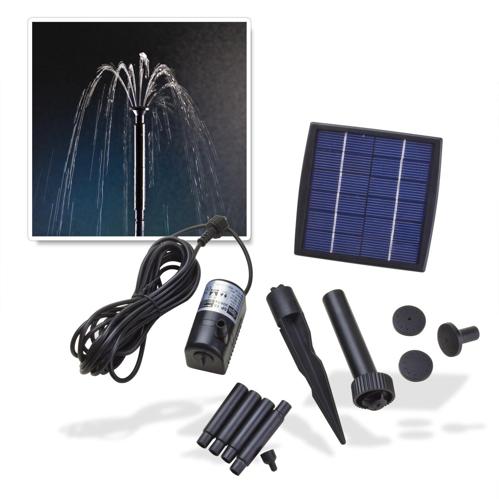 Dema Solar - Springbrunnenpumpe SP 150 für Gartenteich oder Zierbrunnen 30974