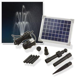 Solar - Springbrunnenpumpe SP 500 für Gartenteich oder Zierbrunnen – Bild $_i