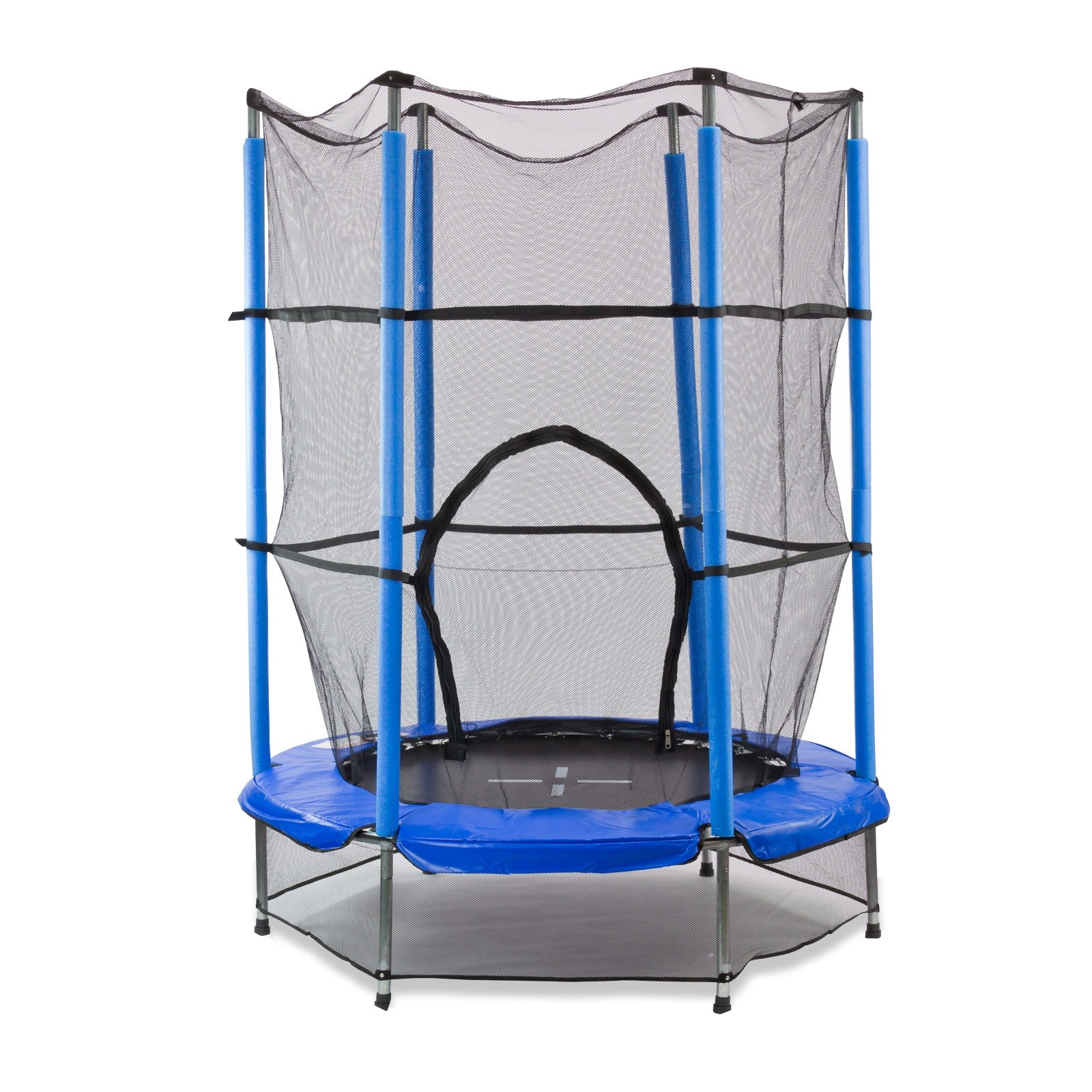 kindertrampolin trampolin 140 cm mit sicherheitsnetz joka. Black Bedroom Furniture Sets. Home Design Ideas