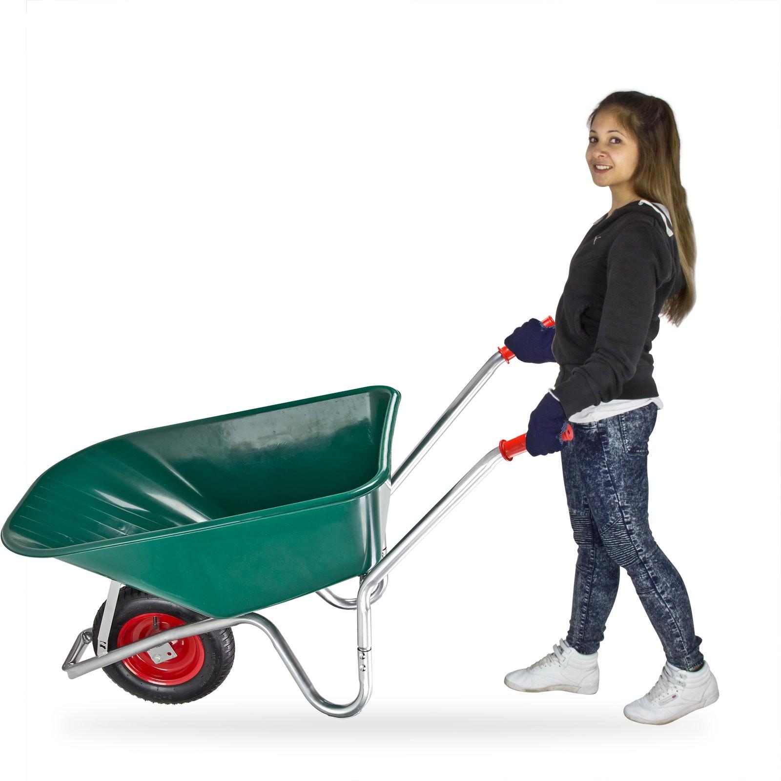 Dema Schubkarre 100 Liter mit Kunststoffwanne 20887