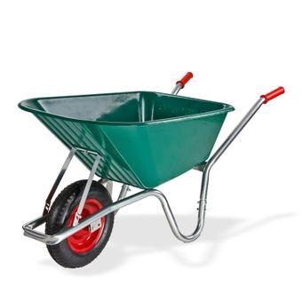 Schubkarre 100 Liter mit Kunststoffwanne – Bild $_i
