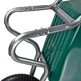 Schubkarre 100 Liter mit Kunststoffwanne
