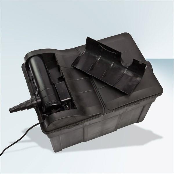Dema Teichfilter TF12000 mit 3 Kammern 18 Watt UVC Gerät Teich Filter 30983