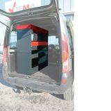 Fahrzeugeinrichtung / Fahrzeugregal / Kfz-Einbauregal Universal Regalsystem