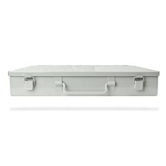 Werkzeugkoffer Werkzeugkasten Sortimentskasten Sortierkasten grau 330x230x50mm – Bild $_i