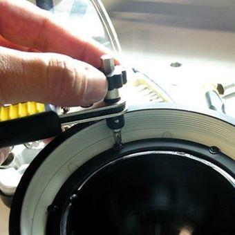 Vintec Werkzeug Knarre / Ratsche 1/4 Zoll + Bits  + Nüsse BR31 – Bild $_i