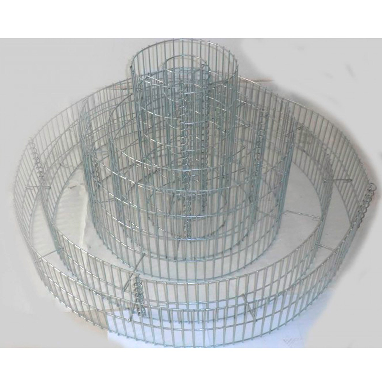 Dema Gabione Kräuterspirale Kräuterbeet Hochbeet 3-fach-ring 14914