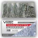 Vintec Federstecker / Splinte 150-tlg Sortiment 2.0 - 4 mm Setbox