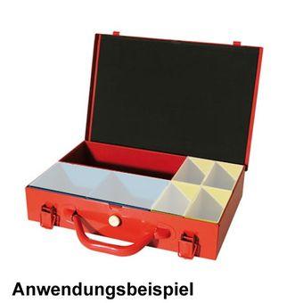 Vintec SORTIERBOX für Sortierkasten / Sortimentskoffer 214x107x62 rot – Bild $_i
