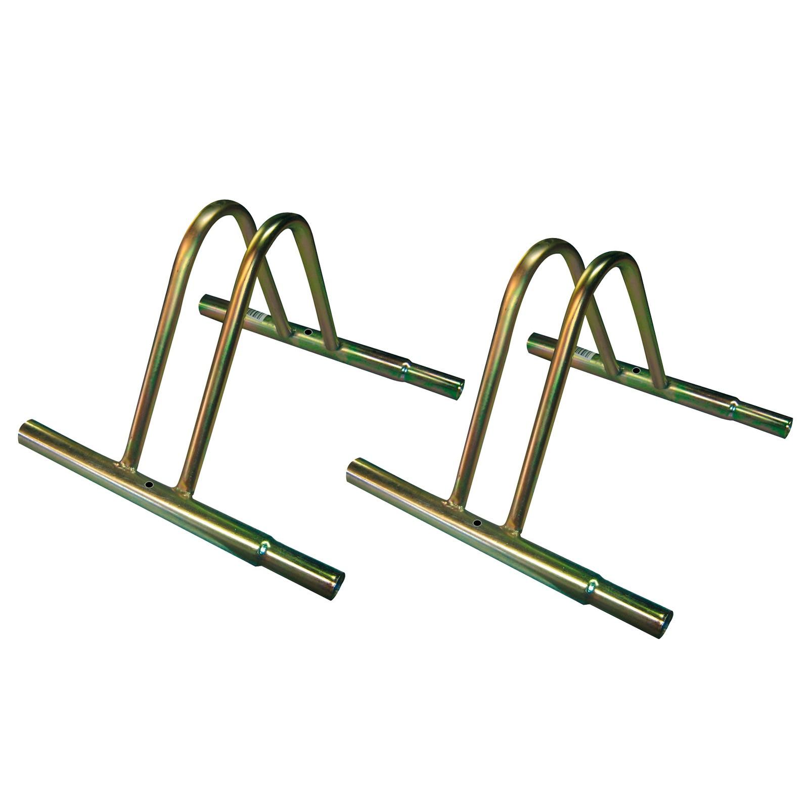 Dema 2 Stück Fahrradständer / Fahrradhalter für Räder Fahrrad im Set 41088-2