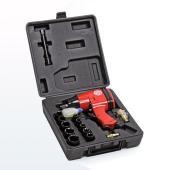 Druckluft Schlagschrauber / Druckluftschrauber 1/2 Zoll 16-tlg. Set – Bild $_i