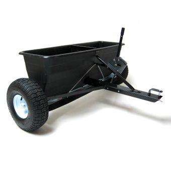 Anhänger Streuwagen SW 105 Düngerstreuer Salzstreuer für Rasentraktor 80 L – Bild $_i