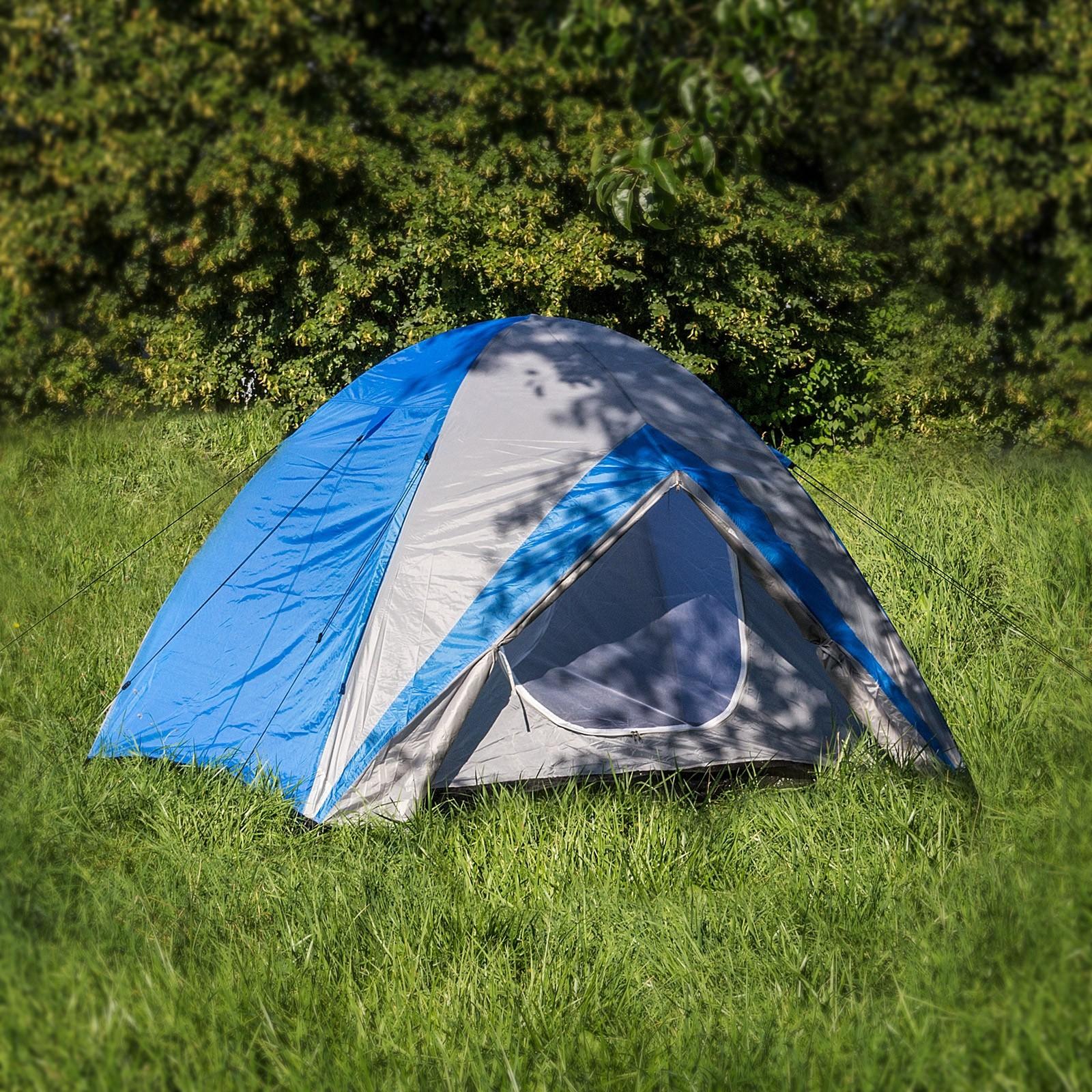 Dema Campingzelt / Zelt For-Four für 4 Personen 410x240x165 cm 43231