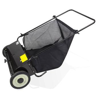 Rasenkehrmaschine Laubkehrmaschine Rasenkehrer Laubkehrer Breite 65 cm – Bild $_i