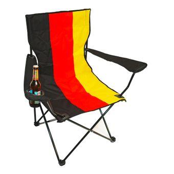 Campingstuhl / Klappstuhl Deutschland mit Tasche – Bild $_i