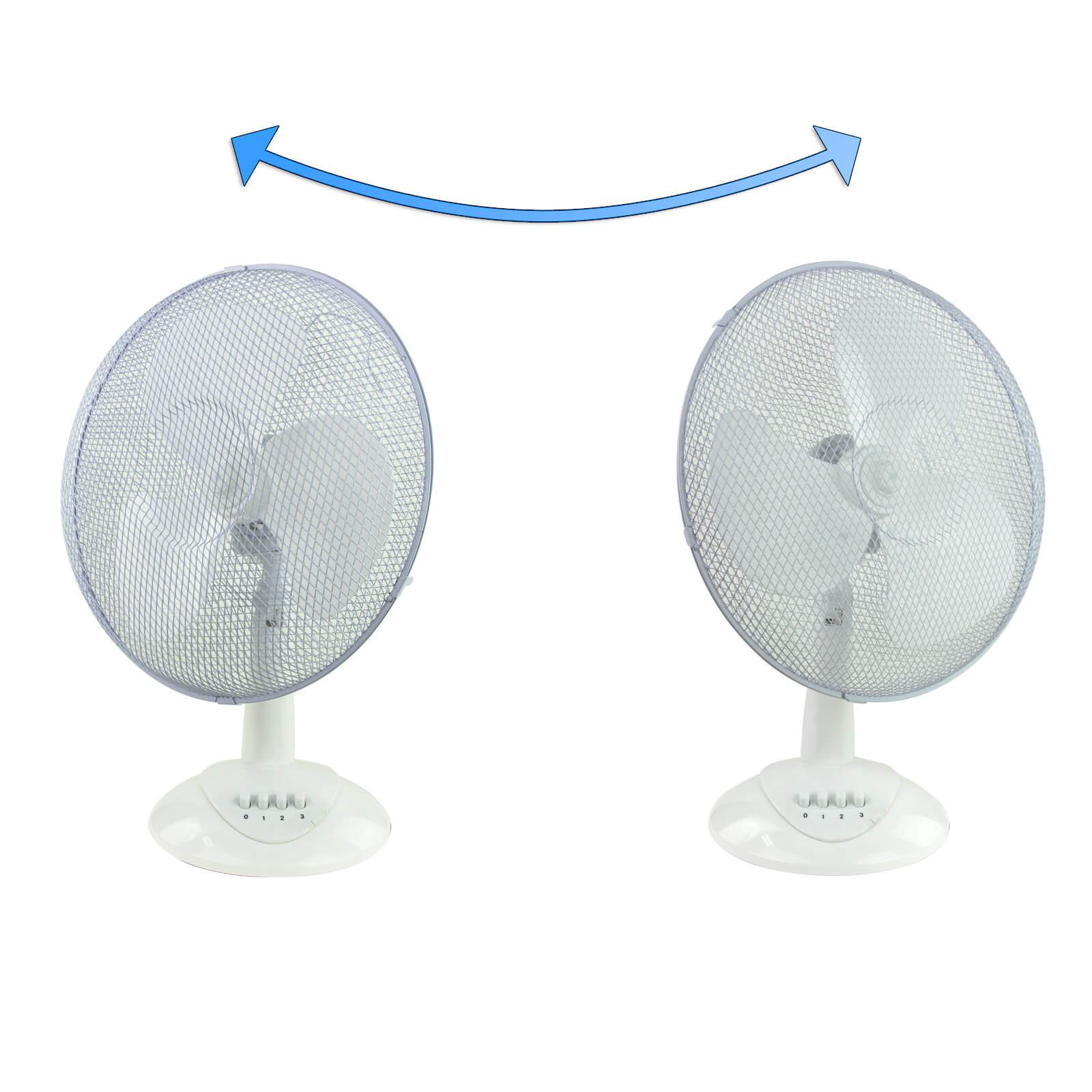 tischventilator ventilator 45 watt 34 cm. Black Bedroom Furniture Sets. Home Design Ideas
