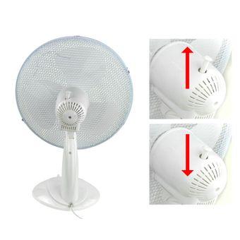 Tischventilator / Ventilator 45 Watt 34 cm – Bild $_i