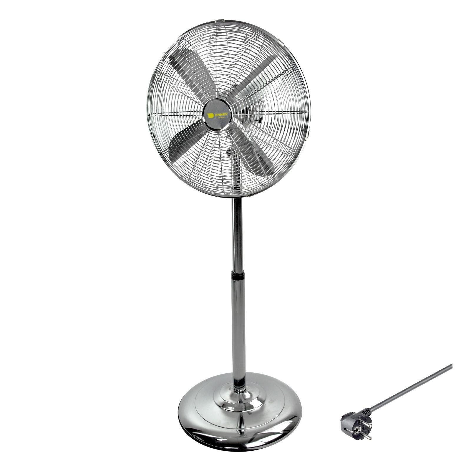 Dema Metall Standventilator Ventilator Bodenventilator Ø 40 cm + 3 Geschwindigkeiten 94202