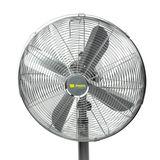 Standventilator / Ventilator Chrom 45 cm 3 Geschwindigkeitsstufen