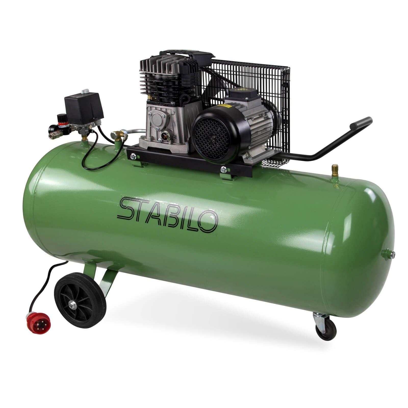 STABILO Druckluft Kompressor Kolbenkompressor Druckluftkompressor 500/10/200 400V 24212