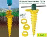 Juwel Duo Bodenschraubanker 41 cm für Wäschespinne Bodendübel