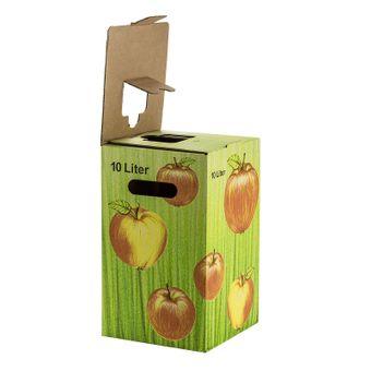 Bag in Box Karton mit Beutel / Saftkarton befüllen 10 Liter – Bild $_i